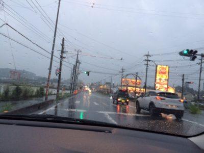 東松山市 ベルク横 407号線 工事現場