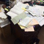自室の大掃除